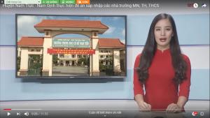 Huyện Nam Trực - Nam Định thực hiện đề án sáp nhập các trường Mầm non, Tiểu học, THCS